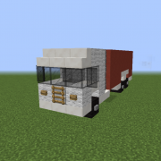 Flat Nose Box Truck 2