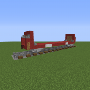 Flatbed Railway Wagon