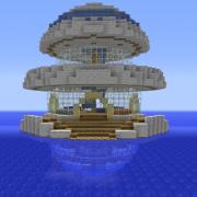 Futuristic Modern Underwater Hotel