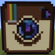 Instagram Logo Statue