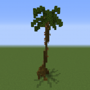 Large Realistic Palm Tree 2