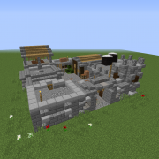Medieval Castle Courtyard