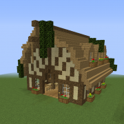 Medieval Detailed Stable Barn