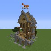 Medieval Fantasy Bounty Hunter House