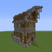 Medieval Fantasy Carpenter House