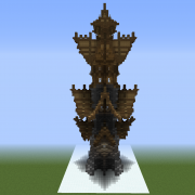 Medieval Fantasy Tower Shell
