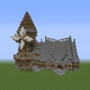 Medieval Fantasy Windmill 1