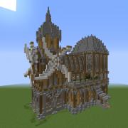 Medieval Fantasy Windmill 2