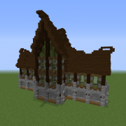 Medieval Gothic Mansion