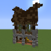 Medieval Gothic Stable