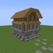 Medieval Hamlet House 1