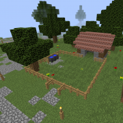 Medieval Island Village Stable