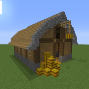 Medieval Stable and Barn