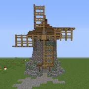 Medieval Stone Windmill