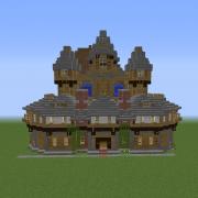 Medieval Tavern in Rock