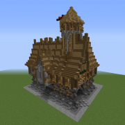 Medieval Town Hall Shell