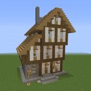 Medieval Town Unfurnished House 6