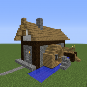 Medieval Watermill Farm House