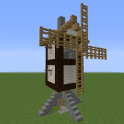Medieval Windmill House 2