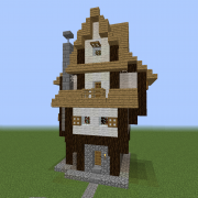 Medieval Wizard's House