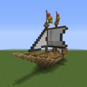 Medieval World Sailing Ship