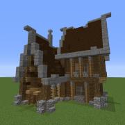 Medium House Medieval Design 3