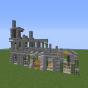 Modern Building Ruin 1