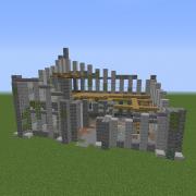 Modern Building Ruin 2