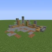 Modern Building Ruin 6