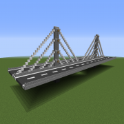 Modern Cable Stayed Bridge 2