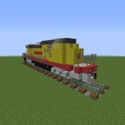 Modern Diesel Locomotive 1