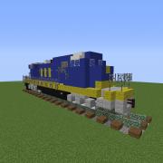 Modern Diesel Locomotive 2