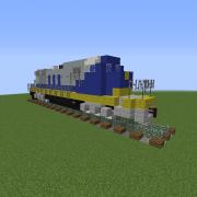 Modern Diesel Locomotive 3
