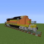 Modern Diesel Locomotive 4