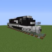 Modern Diesel Locomotive 5