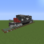 Modern Freight Locomotive 1