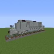 Modern Freight Locomotive 2