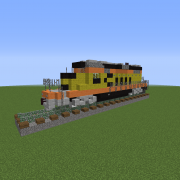 Modern Freight Locomotive 3
