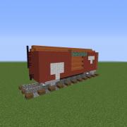 Modern Railway Wagon