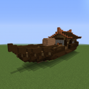 Old Japan Ship