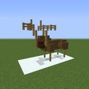 Reindeer Pose