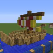 Roman Fishing Ship