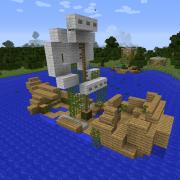 Sailing Boat Ruins