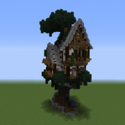Semi-Organic Medieval Tree House