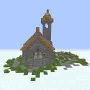 Simple Medieval Church