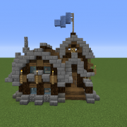 Simple Rustic Small Survival House