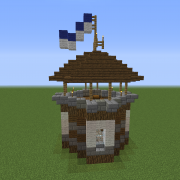 Small Medieval Guard Tower