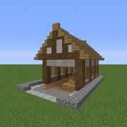 Small Medieval Horse Stable