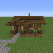 Small Medieval Rustic Starter Home