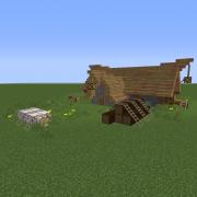 Small Medieval Sawmill